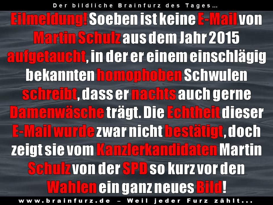 Trägt Martin Schulz wirklich Damenwäsche?